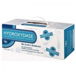 Hydroxydase eau minérale naturelle gazeuse 20 bouteilles